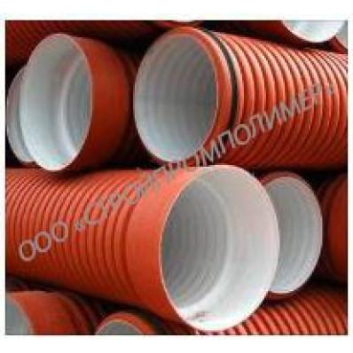 Труба канализационная Политрон ПроКан ID 1000×6000 Sn8 ГОСТ54475-2011