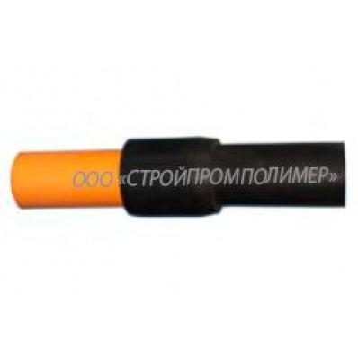 Неразъемное соединение полиэтилен-сталь ПЭ-100 SDR11 ⌀90×89 мм