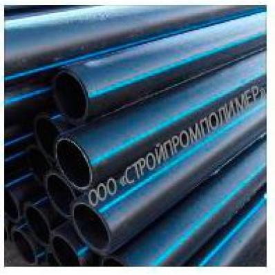 Полиэтиленовая труба ПЭ-80 SDR41 - 110×2,7 питьевая ГОСТ 18599-2001